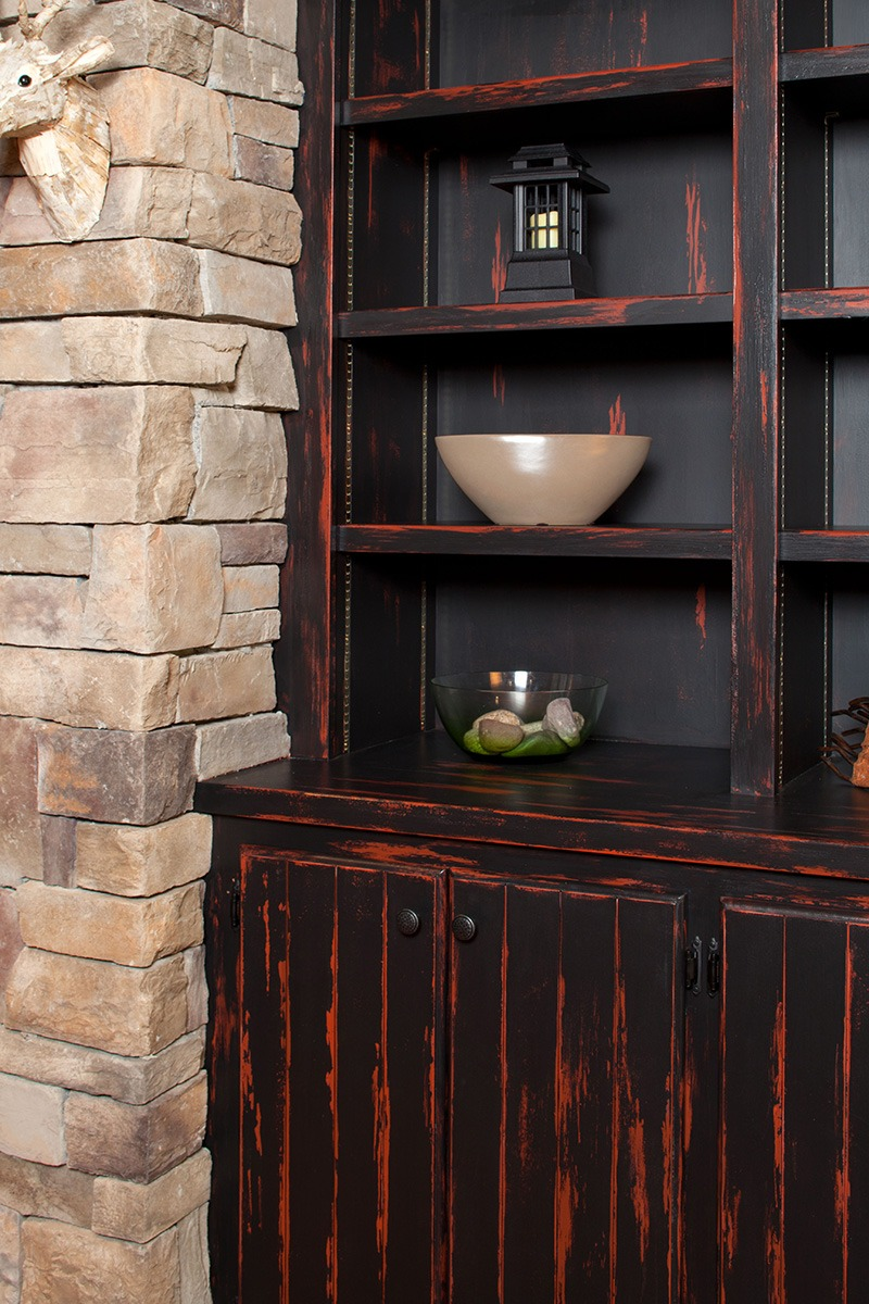 Built-in Cabinet Space