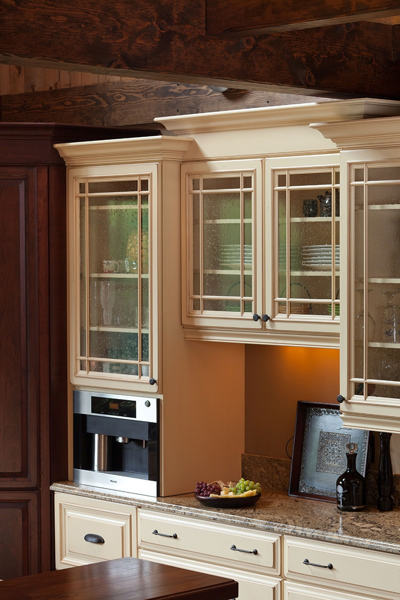 Kitchen Cabinets Close up